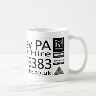 Whiteley PA Hire Mug
