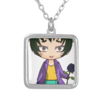 who doesnt like chibi square pendant necklace