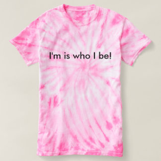 Who I be Ladies pink T-Shirt