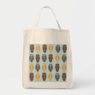 """Who Likes Owls?"" Tote Bag"