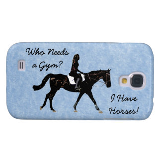 Who Needs a Gym? Fun Horse Galaxy S4 Case