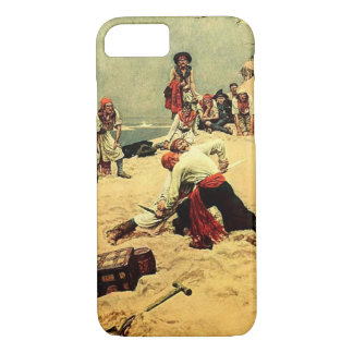 Who Shall Be Captain? pirate art iPhone 7 Case