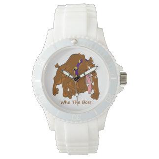 Who the Boss Wristwatch