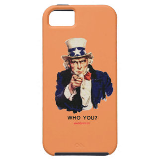 WHO_YOU_Uncle_Sam iPhone 5 Case
