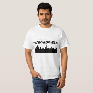 #WHOABOKEN HOBOKEN T-Shirt