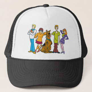 Whole Gang 14 Mystery Inc Trucker Hat