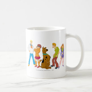 Whole Gang 15 Mystery Inc Coffee Mug