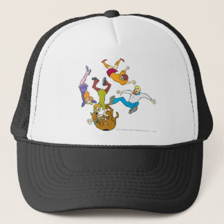 Whole Gang 17 Mystery Inc Trucker Hat