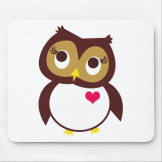 Whoo Loves You Mousepads