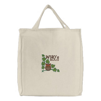 Whos Bag Funny Owl