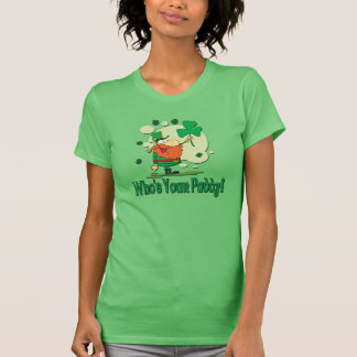 Who's Your Paddy Funny Leprechaun T-Shirt