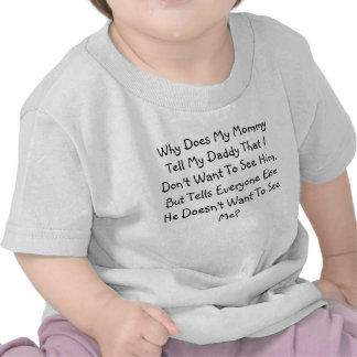 Why Does Mommy....? Shirts
