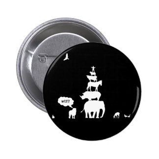 Why Take Freedom? Animal Stack. Pinback Buttons