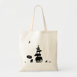 Why Take Freedom? Animal Stack. Canvas Bags