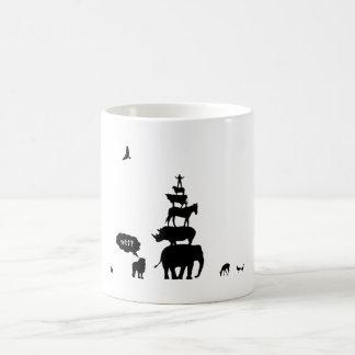 Why Take Freedom? Animal Stack. Coffee Mug