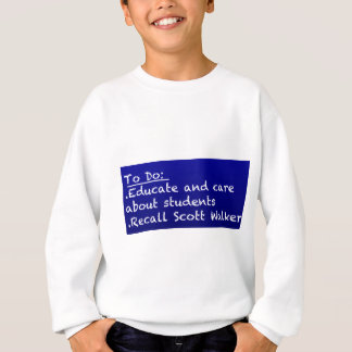 WI Teacher To Do List Sweatshirt