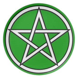 Wiccan & Magick Pentagram Pentacle - M1 Plate