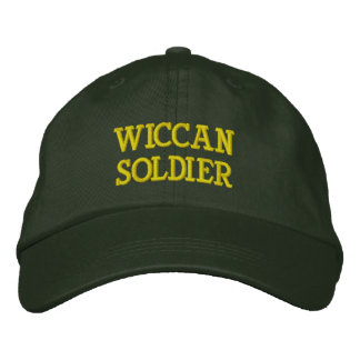 Wiccan Soldier Hat