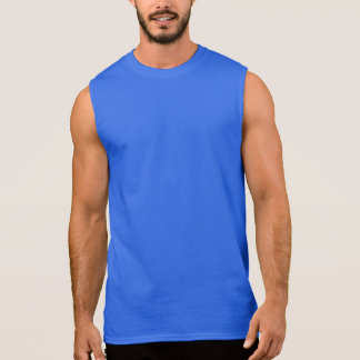 Wicked Waters Stone Crab Blue Seaweed Sleeveless Shirt