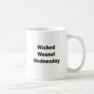 Wicked Weasel Wednesday Coffee Mug