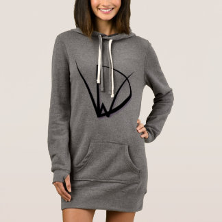 WickedDoodlah Logo Women's Hoodie Dress
