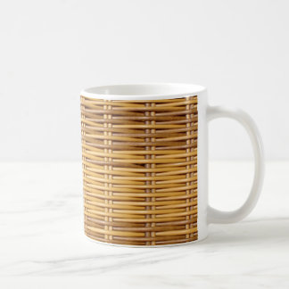 Wicker Coffee Mug