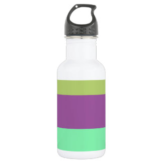 Wide Color Stripes 532 Ml Water Bottle
