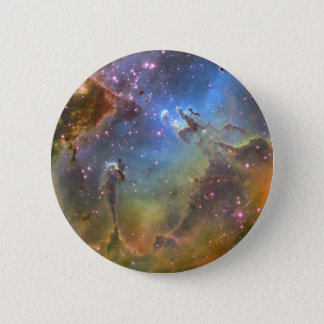 Wide-Field Image of the Eagle Nebula 6 Cm Round Badge