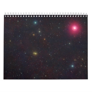 Wide Field View Constellation Cetus Stars Wall Calendars