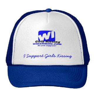 wigknewlogoblue, I Support Girls K... - Customized Cap