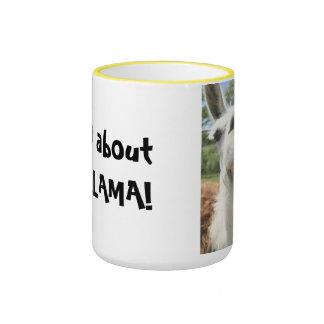 Wild about my Llama Coffee Mug