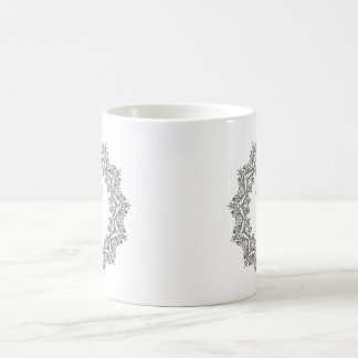 Wild and Free Black and White Design Mug