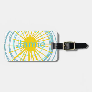 Wild and Free You Are My Sunshine Luggage Tag