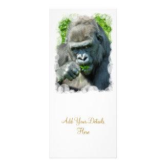 WILD ANIMALS - GORILLAS RACK CARDS