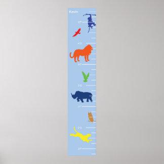 Wild Animals Growth Chart