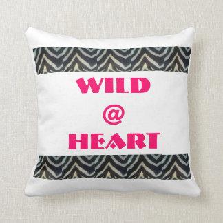 Wild at Heart Throw Cushions
