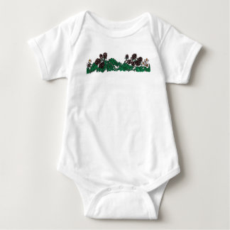 Wild blackberry strip (no caption). baby bodysuit