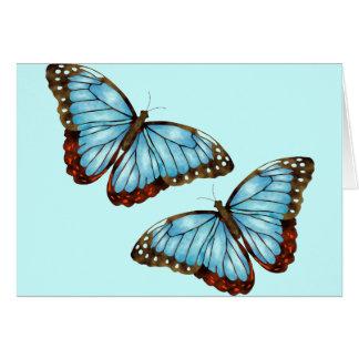 Wild Butterflies Card