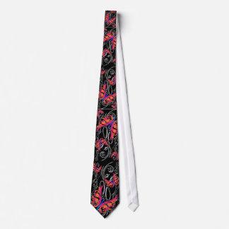 Wild Butterfly Flip Design, Wild Butterfly Flip... Tie