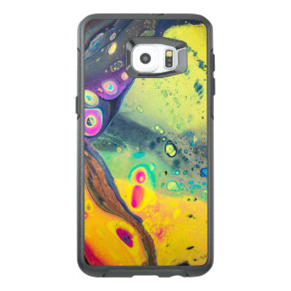 """Wild Colorful Acrylic """"Dirty Pour"""" OtterBox Samsung Galaxy S6 Edge Plus Case"""