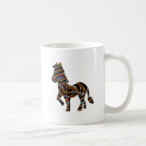 Wild Exotic Zebra - NOVINO Art101 Graphics Mug