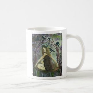Wild Fauna Witch Art Mug