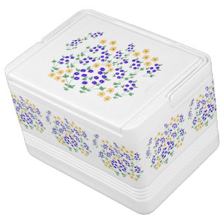 Wild Flower design Chilly Bin
