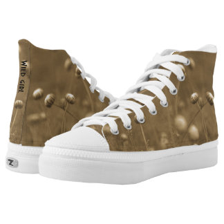 Wild girl vintage style high tops