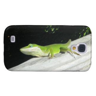 Wild Green Gecko Galaxy S4 Case