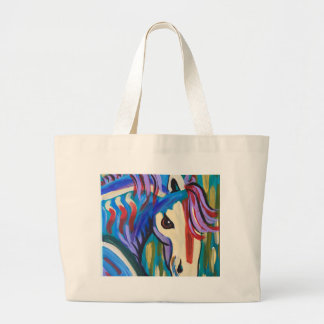 Wild Horse Large Tote Bag