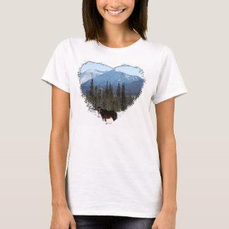 Wild Horse on Alaska Highway T-Shirt
