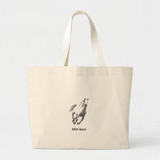 Wild Horse's Canvas Bag for Ladies