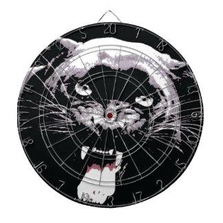 Wild Jaguar Eyes Dartboard
