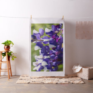 Wild Lupine Flowers Fabric
